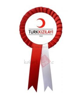 Türk Kızılayı Yaka Kokartı