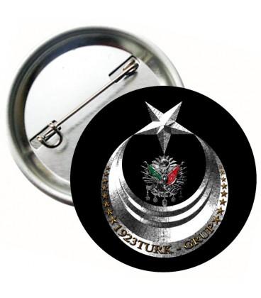 Ay Yıldız Osmanlı Arması Rozeti