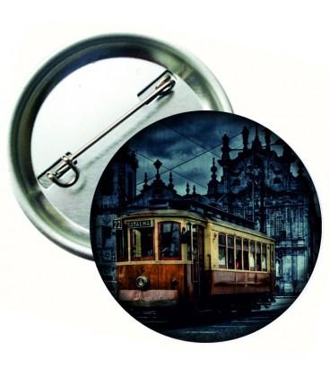 Tramvay Görselli Aksesuar Rozet 44 mm