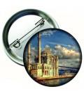 Ortaköy Sahili Aksesuar Metal Rozet 44 mm