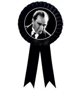 Atatürk Fiyonklu Rozetler