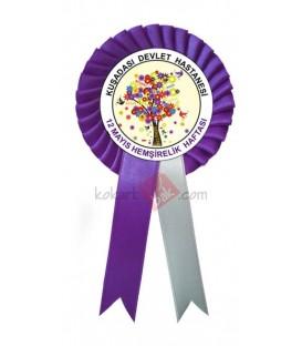 12 Mayıs Hemşirelik Haftası Kokartları