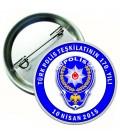 10 Nisan Polis Haftası Rozeti