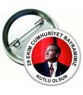 Cumhuriyet Bayramımız Rozeti