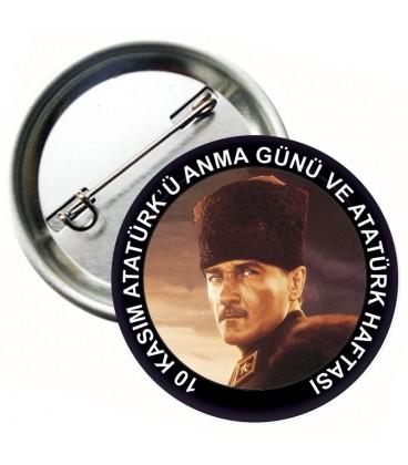 10 Kasım Atatürk Rozetleri