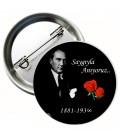 Atatürkü Saygıyla Anıyoruz 10 Kasım Rozeti