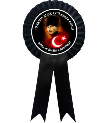 Atatürk Haftası 10 Kasım Anma Kokartları