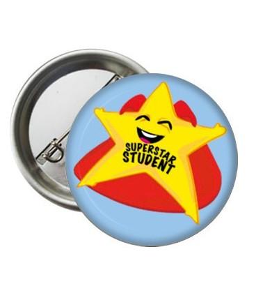 İngilizce Rozetler Superstar Student