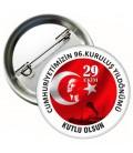 29 Ekim Cumhuriyet Bayramı Yaka Rozetleri