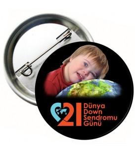 21 Mart  Down Sendromu Rozetş01