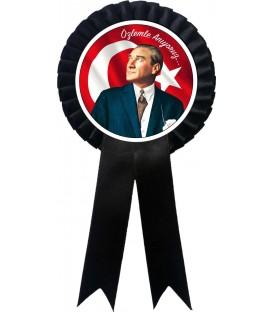 Özlemle Anıyoruz Atatürk  Kokartı