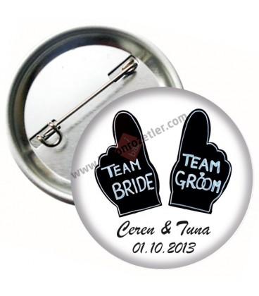Team Bride Team Groom