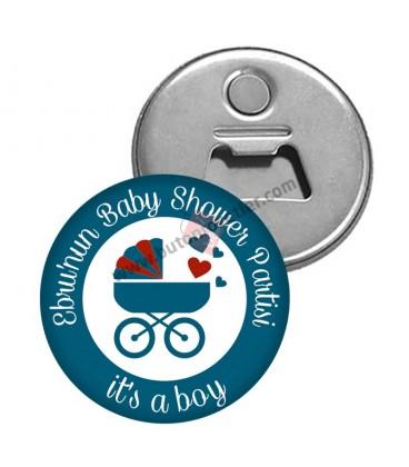 Baby shower Parti Magnet Açacakları