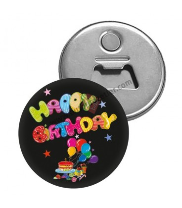Happy Birthday Magnet Açacaklar