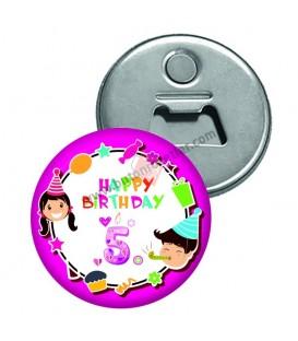 5 Yaş Doğum Günü Magnet Açacaklar