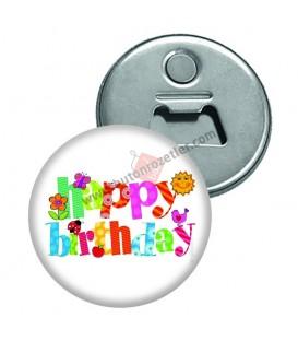 Happy Birthday Magnet Açacakları