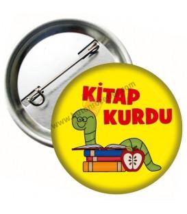 Kitap Kurdu Rozeti 3