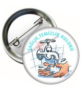 Sağlık ve Temizlik Kulübü Rozeti